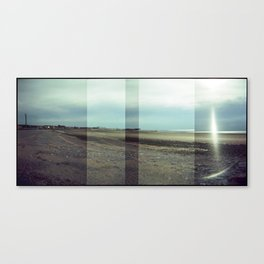 Morecambe Panorama Canvas Print