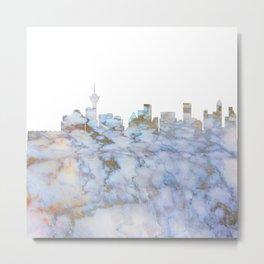 Vancouver Canada Skyline Metal Print