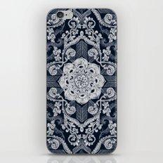 Centered Lace - Dark iPhone & iPod Skin