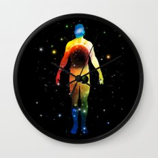 The Universe is in Us Wall Clock