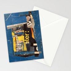 fundamental blue Stationery Cards