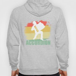 Distressed Accordion Tshirt Hoody