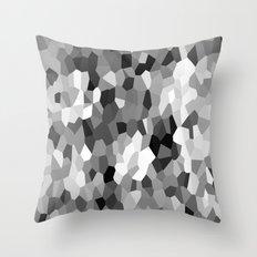 Black-and-white Throw Pillow