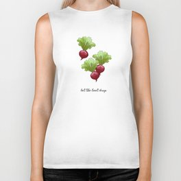 Let The Beet Drop, Food and Drink Biker Tank