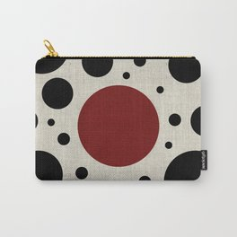 """Abstract Japanese Cow"" Carry-All Pouch"