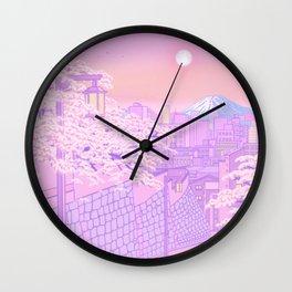 Fuji Valentine Wall Clock