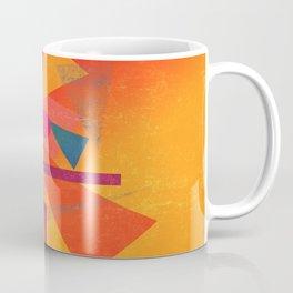 Autumn Abstract Design Coffee Mug