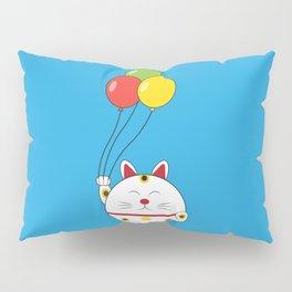 Fat Cat with Balloons Pillow Sham