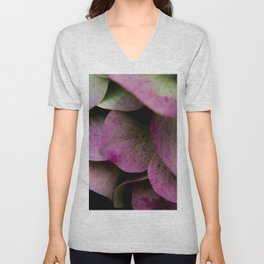 pink hydrangea I Unisex V-Neck