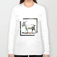 goat Long Sleeve T-shirts featuring Goat by LoRo  Art & Pictures