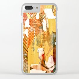 Formation of Manifestation Clear iPhone Case