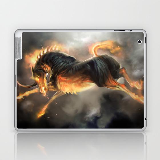 The Nightmare Laptop & Ipad Skin by Tcfischer LSK899550