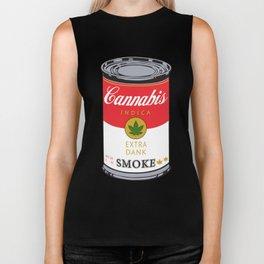 Campbell's Soup (Cannabis Indica) Biker Tank
