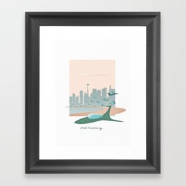 Past Future  Framed Art Print