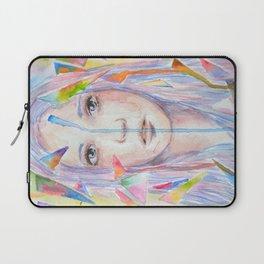 Rainbow eyes Laptop Sleeve
