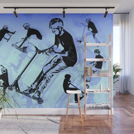 It's All About The Scooter! - Scooter Tricks Wall Mural