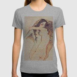 """Egon Schiele """"Two women embracing"""" T-shirt"""