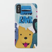 returns iPhone & iPod Cases featuring Rawr Returns! by mrbiscuit