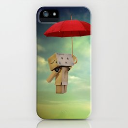 Danbo on tour iPhone Case