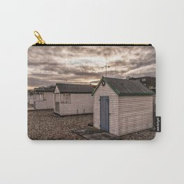 Beach Huts At Sunset Carry-All Pouch