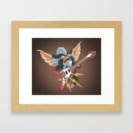 Electric Gremlin Framed Art Print
