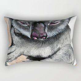 Sleepy Koala Rectangular Pillow