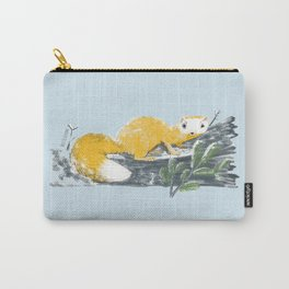 Cute Japanese Marten (c) 2017 Carry-All Pouch