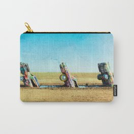Car Ranch route 66 Carry-All Pouch