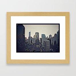 Dawn of the Living Dead Framed Art Print