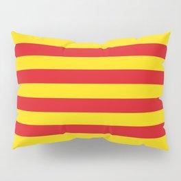 Catalan Flag - Senyera - Authentic High Quality Pillow Sham