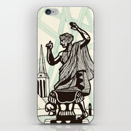 Berlin - Muse of History iPhone Skin