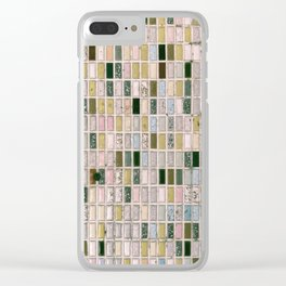 Vintage wall#retro#film#effect Clear iPhone Case
