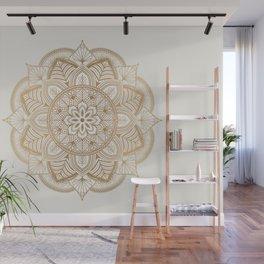 Mandala Beige Creamy Pattern 1 Wall Mural
