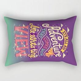 Tightrope Rectangular Pillow