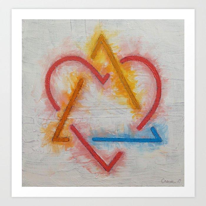 Adoption Symbol Kunstdrucke