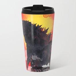 godzilla 5 Travel Mug