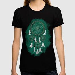 Classic Dreamcatcher: Green background T-shirt