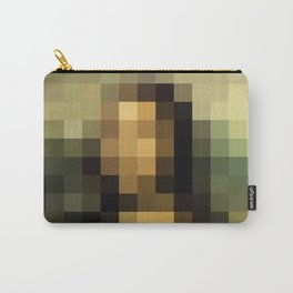 PIXELEON-Monalisa Carry-All Pouch