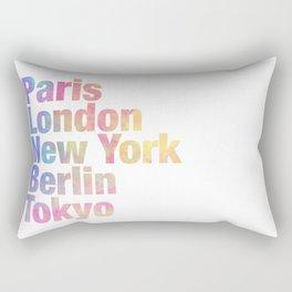 cool cities Rectangular Pillow