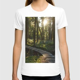 North Shore Trails in the Woods T-shirt