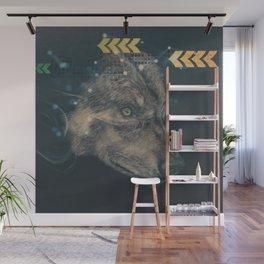 Urban wolf Wall Mural