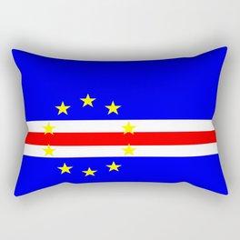 Cape Verde country flag Rectangular Pillow