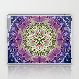 Colourful Dragonfly Mandala Laptop & iPad Skin