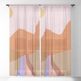 flow Sheer Curtain