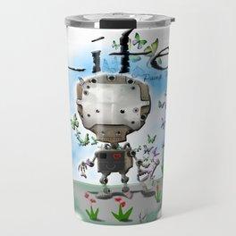 Pop Pomp man Travel Mug