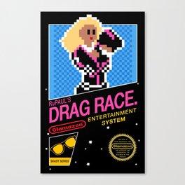 Rupaul's Drag Race - 8 Bit NES Canvas Print