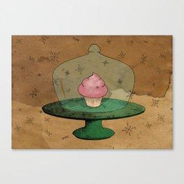 - Winter Cupcake - Canvas Print