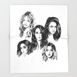 Pretty Little Liars Throw Blanket