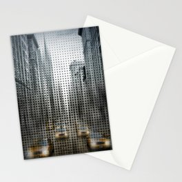 Graphic Art NYC 5th Avenue Traffic V Stationery Cards