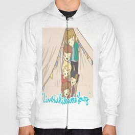 One Direction Live Like We're Young Cartoon 2 Hoody